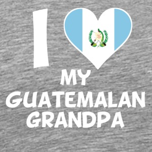 I Heart My Guatemalan Grandpa - Men's Premium T-Shirt