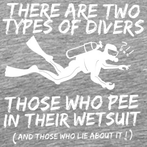 There Are Two Types Of Scuba Diver T Shirt - Men's Premium T-Shirt