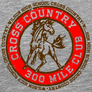 Cross Country 300 Mile Club Wilson High School Cro - Men's Premium T-Shirt