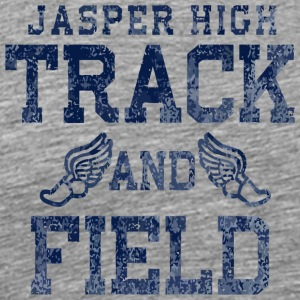 Jasper High Track And Field - Men's Premium T-Shirt