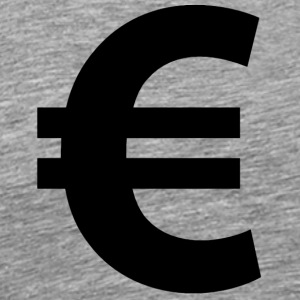 Euro Sign - Men's Premium T-Shirt