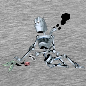 Robot with good intentions - Men's Premium T-Shirt