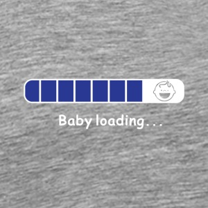 BABY LOADING PNG - Men's Premium T-Shirt