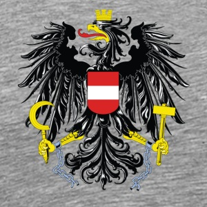 National Coat Of Arms Of Austria - Men's Premium T-Shirt