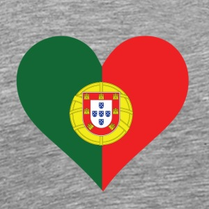 A Heart For Portugal - Men's Premium T-Shirt