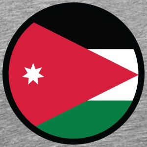 National Flag Of Jordan - Men's Premium T-Shirt