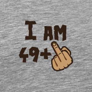 Birthday I am 49 plus X - Men's Premium T-Shirt