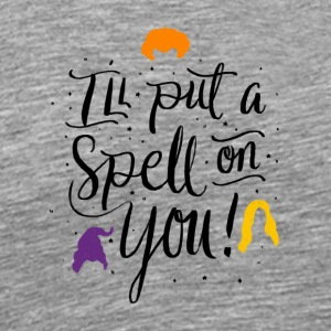 Halloween Witches I´ll put a Spell on You. Pumpkin - Men's Premium T-Shirt
