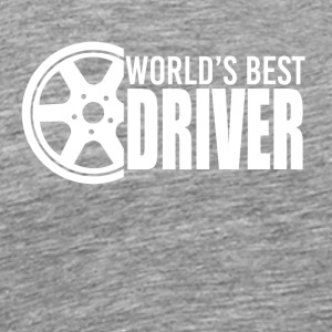 Car - Car fan - Driver - Drive - Drive a car - Men's Premium T-Shirt