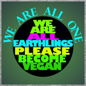WE ARE ALL EARTHLINGS - Men's Premium T-Shirt