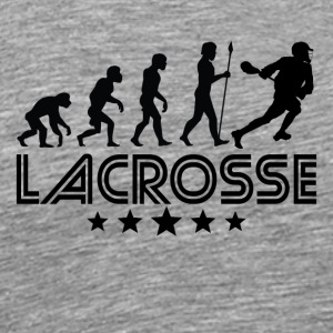 Retro Lacrosse Evolution - Men's Premium T-Shirt