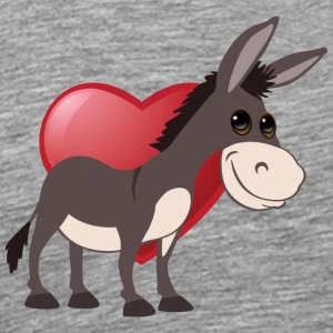 love donkeys - Men's Premium T-Shirt