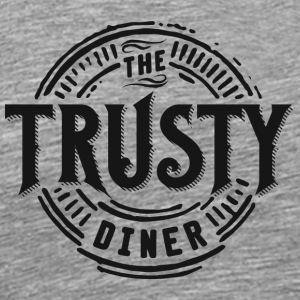 TheTrustyDiner black - Men's Premium T-Shirt