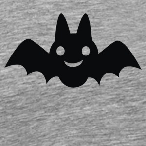 CARTOON BAT SILHOUETTE - Men's Premium T-Shirt