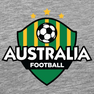 Australia Football Logo - Men's Premium T-Shirt