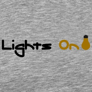 Lights On - Men's Premium T-Shirt