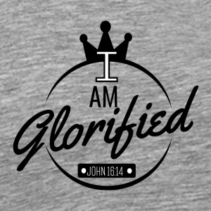 I am glorified - Men's Premium T-Shirt