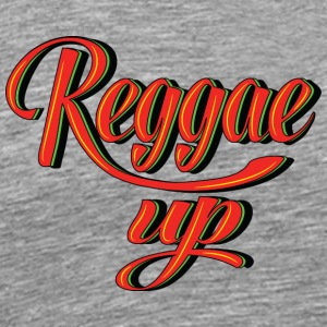 reggae up - Men's Premium T-Shirt