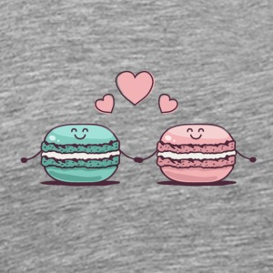 Macarons Couple - Men's Premium T-Shirt