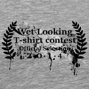 Wet Looking T Shirt Contest - Men's Premium T-Shirt