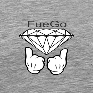 FueGo Diamond Collection - Men's Premium T-Shirt