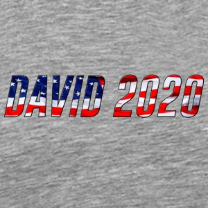 DAVID 2020 USA - Men's Premium T-Shirt