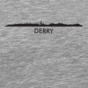 Derry Northern Ireland Skyline - Men's Premium T-Shirt