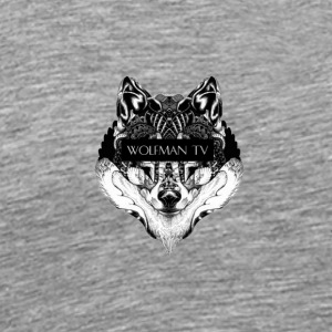 Alpha Wolf - Men's Premium T-Shirt