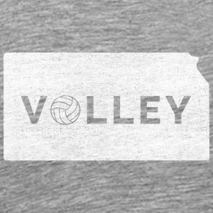 Kansas State Shape Volleyball - Men's Premium T-Shirt
