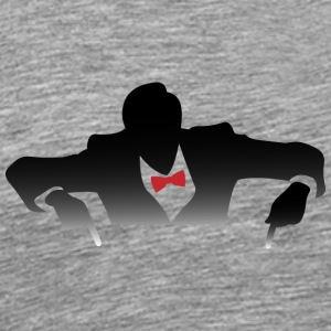 Cool Guy In A Tuxedo - Men's Premium T-Shirt