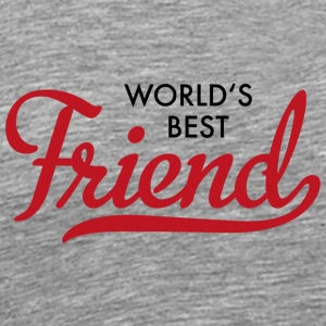 world's best friend - Men's Premium T-Shirt