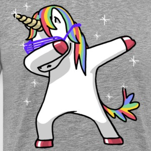 Unicorn Shirt Dab Hip Hop Funny Magic Shirt - Men's Premium T-Shirt