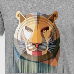 stripped tiger - Men's Premium T-Shirt