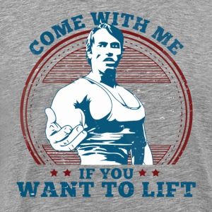 Arnold Schwarzenegger - Come With Me - Men's Premium T-Shirt