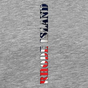Rhode Island Flag Design - Men's Premium T-Shirt