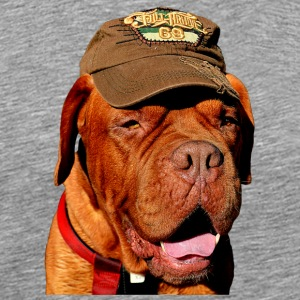 dog hund bulldogge bordeaux dogge bulldog - Men's Premium T-Shirt