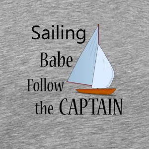 Sailing Babe - Men's Premium T-Shirt