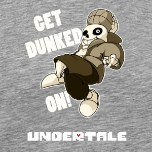 undertale dunked - Men's Premium T-Shirt