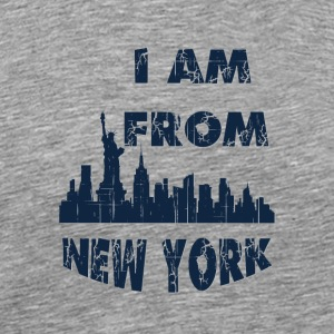 I am from New york I am from - Men's Premium T-Shirt