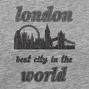 London Best city in the world - Men's Premium T-Shirt