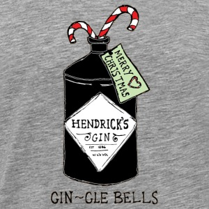 GIN gle bells - Men's Premium T-Shirt
