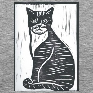 Cat Print - Men's Premium T-Shirt