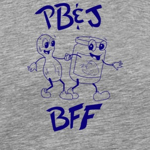 Peanut Butter And Jelly Bff - Men's Premium T-Shirt
