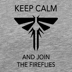 Keep calm and join the Fireflies - Men's Premium T-Shirt