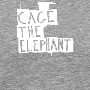 Cage_the_Elephant Logo - Men's Premium T-Shirt