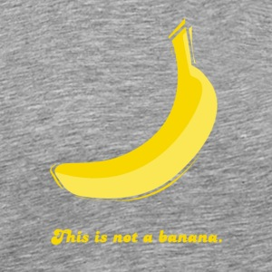 This is not a banana - Men's Premium T-Shirt