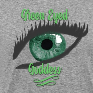 Green Eyed Goddess Humble Brag - Men's Premium T-Shirt