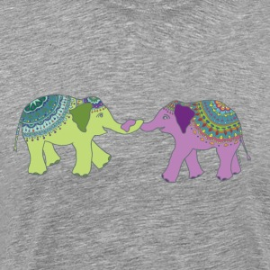 Elephant Friends - Men's Premium T-Shirt