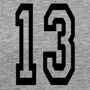 Lucky number 13. - Men's Premium T-Shirt