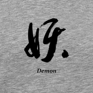 Demon (Black) - Men's Premium T-Shirt